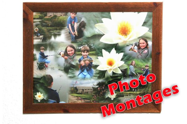 blended photo montages