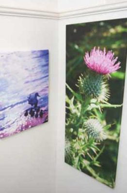 Canvas wraps from your photos